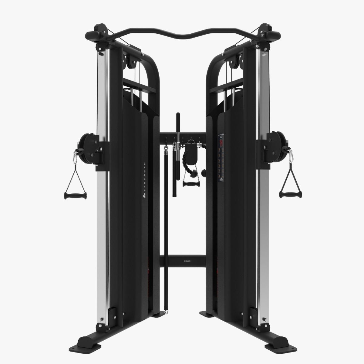 Binom Strength BS05 Dual Adjustable Pulley - Polea Ajustable Profesional + Accesorios