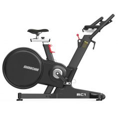 Binom Fitness BC1 Bicicleta de Spinning Profesional Magnética + Consola