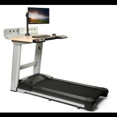 Life Fitness Cinta de correr para oficina (mesa incluida)