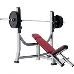 Olympic Incline Bench Signature Series - Life Fitness (Bancos)