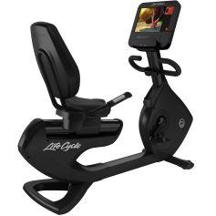 Life Fitness Platinum Discover SE3 HD Bicicleta Reclinada- Black Onyx