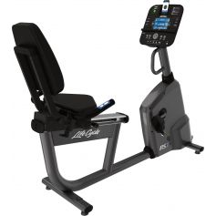 Life Fitness RS1 Consola Track Plus Bicicleta Reclinada cardio profesional
