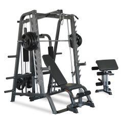 Titanium Strength 680T Total Smith Machine - 100% Profesional