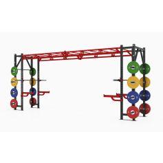 Profesional Heavy Athletic Bridge Rack X Line - 100% Profesional