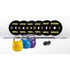 Performance Competition Kit (Barra 2,20 + topes + bumper  10.15.20 -2uds- + ket competicion 12.16.20 kgs) de ZIVA