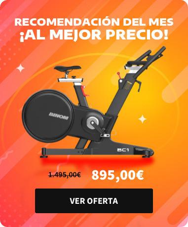 Bicicleta Binom BC1 magnética con consola