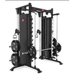 Pro Strength Dual Functional + Multipower + Rack de discos
