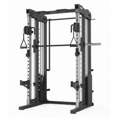 Titanium Strength Profesional FT3: Doble Polea, Smith System y Rack