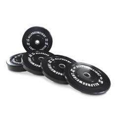 AFW Lote de Discos Olímpicos Bumper 5-25 kg (Peso Libre) progym discos bumper profesionales