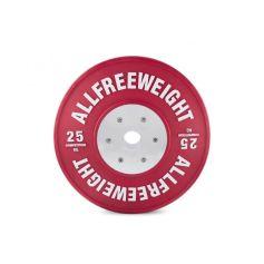 AFW Lote de Discos Bumper Competition Technique 5-25 kg (Discos) progym discos profesionales crossfit