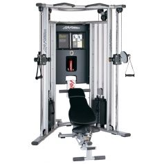 Life Fitness G7 Multi Gimnasio con banco ajustable (Multi Gym)