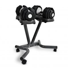 Bodymax Mancuernas Ajustables 25kg (par) + Rack + Banco Ajustable