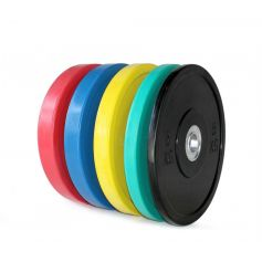 PROWOD Lote de Discos Bumper Promax 5-25 kg (Peso Libre) progym
