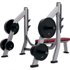 Olympic Bench Weight Storage Signature Series - Life Fitness (Bancos)