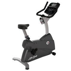 Life Fitness C1 Track Connect Bicicleta Vertical (Bluetooth y Aplicaciones Interactivas 2018) (Bicicletas estáticas) PROGYM BICICLETAS VERTICALES DOMESTICAS MAQUINAS DE CARDIO DOMESTICAS