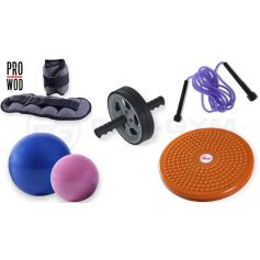 Pack Accesorios Tonificacion Fitness PRO-GYM.