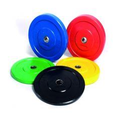 PROWOD Lote de Discos Olímpicos Bumper Color 5-25 kg (Peso Libre) progym discos bumper profesionales