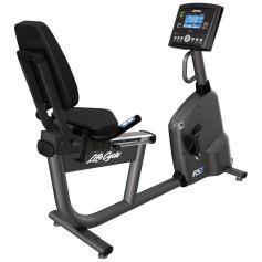 Life Fitness RS1 Go Bicicleta Reclinada cardio profesional progym