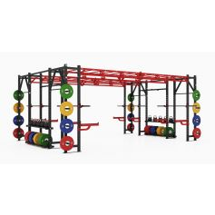 Titanium Strength Profesional Heavy Athletic Bridge Rack - X Line
