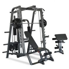 Titanium Strength 680T Total Smith Machine - 100% Profesional
