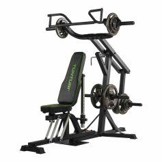 Tunturi WT80 Leverage Gym + 80kg Discos Olimpicos